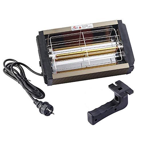 Grinning 1000W Autolack-Härtungslampe, Smart Timing Tragbare Kurzwellenlacklampe Kann Auch Für Hausheizung, Autofenster-Defogging Verwendet Werden
