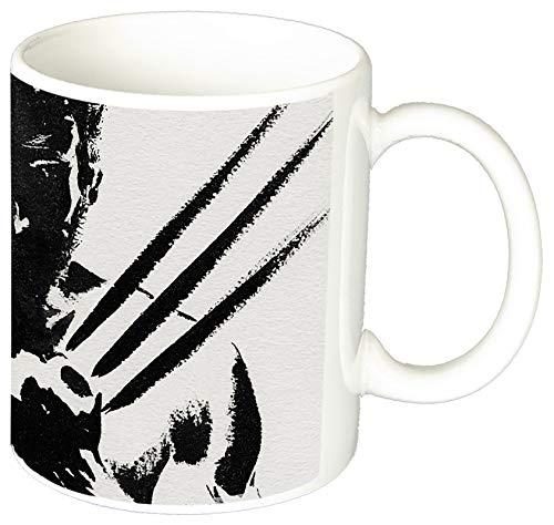 MasTazas X Men Wolverine Lobezno Hugh Jackman F Taza Ceramica