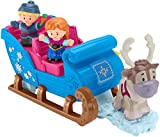 Fisher-Price Little People Disney Frozen El trineo de Kristoff,...