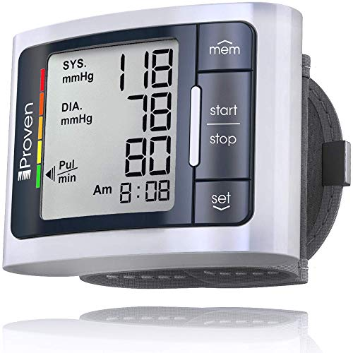 iProven Blood Pressure Cuff, Automatic Wrist Blood Pressure Monitor...