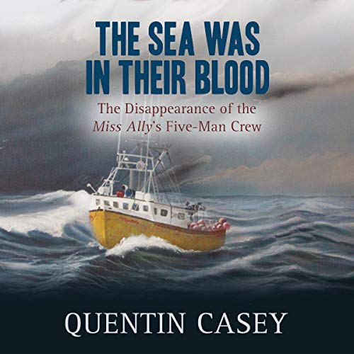 The Sea Was in Their Blood audiobook cover art