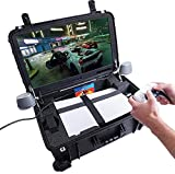 Case Club Waterproof PlayStation 5 Portable Gaming Station with Built-in 24' 1080p Monitor, Cooling Fans, & Speakers....