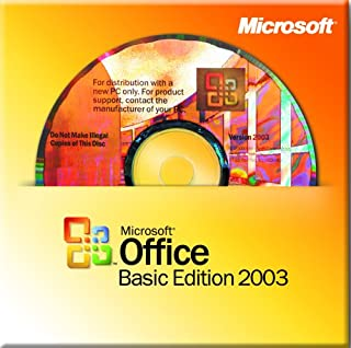 Microsoft Office Basic 2003 WIN32 for System Builders, 3 pack [Old Version]