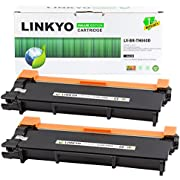 LINKYO Compatible Toner Cartridge Replacement for Brother TN660 TN-660 TN630 (Black, 2-Pack, Value Edition)