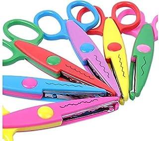 6 Colorful Decorative Paper Edge Scissor Set, Great for Teachers, Crafts, Scrapbooking, Kids Design