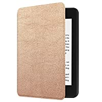 NEW-Kindle Paperwhite第十世代ケース/カバー 2018キンドルペーパーホワイト専用ケース 2018 Kindle Paperwhite Newモデル(第10世代)に適応 オートスリープ機能付き (ゴールド)