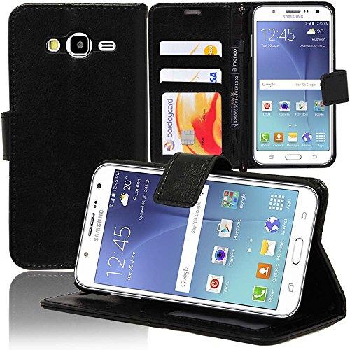 Samsung Galaxy J5SM-J500F Custodia HCN Phone Custodia Clamshell Folio Libro Portafoglio Supporto Integrato per Samsung Galaxy J5SM-J500F