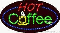 ホットコーヒーFlashing &アニメーションLEDサイン( High Impact、エネルギー効率的な)