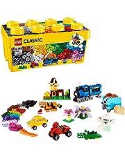 LEGO 10696 Classic Medium Byggstenbox, Flerfärgad, 36,95 x 180 x 17,9 cm