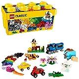 LEGO Classic - Caja de ladrillos Creativos, Set de Construcción con ladrillos de colores (10696)