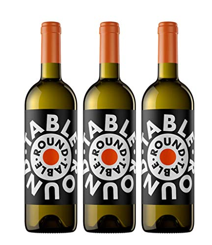 Round Table vino blanco - 3 botellas de 750 ml