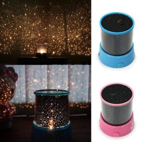 BLxi Proyector Starlight Star Sky LED luz nocturna proyector lámpara de decoración de la lámpara de mejor regalo (color al azar)