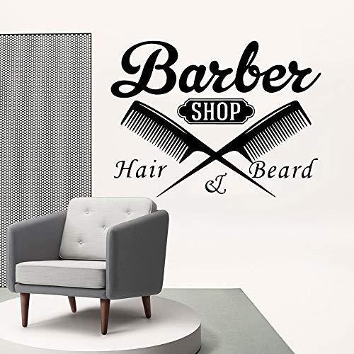 Salon de coiffure décor à la maison produits pour bébé accessoires de chambre murale art mural XL 57 cm X 76 cm