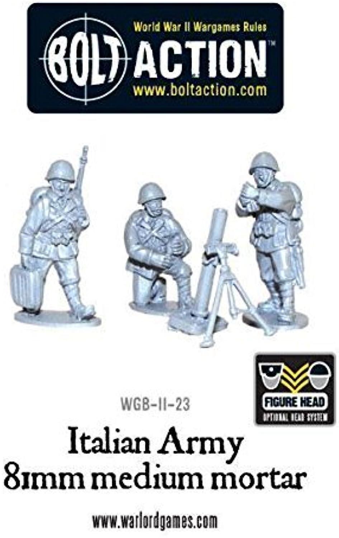 Italian Army 81mm Mortar Team