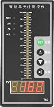 Level Meter Sensor, Water Level Display Meter Intelligent Pressure Controller Light Column Display 4-20MA Level Transmitter, Liquid Level Display Meter