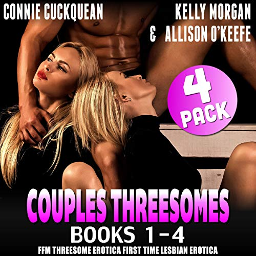 Couples Threesomes 4-Pack: Books 1 - 4 audiobook cover art