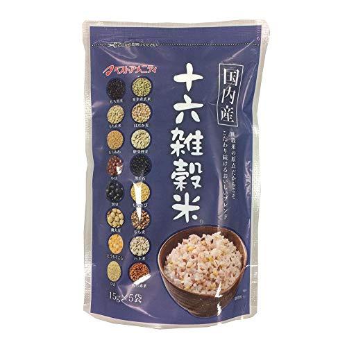 雑穀シリーズ 国内産 十六雑穀米(黒千石入り) 75g(15g×5袋) 30入 Z01-025