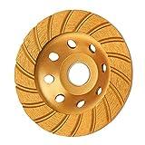 KSEIBI 644052 Super Turbo Diamond Cup wheel 4-1/2 Inch (115 mm)...