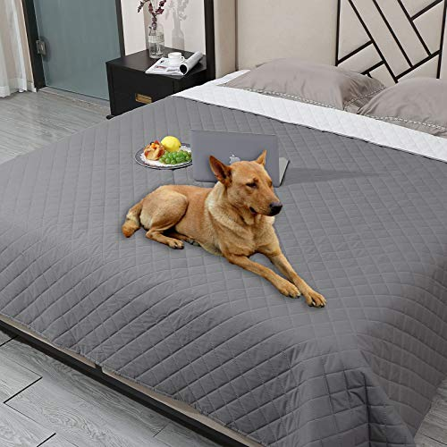 Snagle Paw Waterproof Dog Couch Cover,Washable Puppy Pad,ReusableDog Bed Cover with Non-Slip Back,Pet Furniture Bed and Sofa Cover,Water-Resistant Pee Pads for Dogs (52