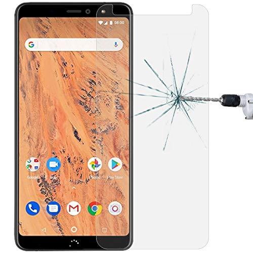 Jiangym Película de Cristal Moderada del teléfono móvil 0.26mm 9H 2.5D Película Protectora de Vidrio Templado for BQ Aquaris X2 / Aquaris X2 Pro Película de Vidrio Templado