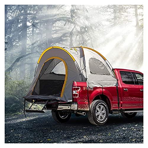 BSJZ Tienda de campaña Ultraligera para Exteriores Camioneta Pickup Wilderness Vehículo para Acampar Coche Trasero Cuenta para Acampar al Aire Libre Tienda de malete