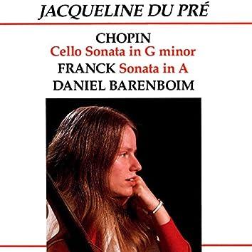 Chopin: Cello Sonata in G Minor - Franck: Sonata in A
