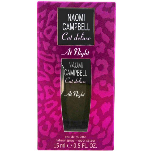 Naomi Campbell Cat Deluxe at Night Eau de Toilette Natural Spray, 15 ml