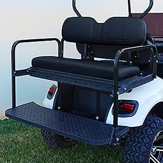 RHOX Rhino Seat Kit, Black, E-Z-Go TXT