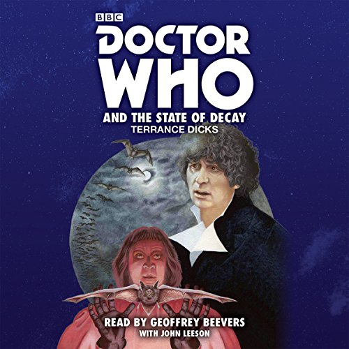 Doctor Who and the State of Decay audiobook cover art