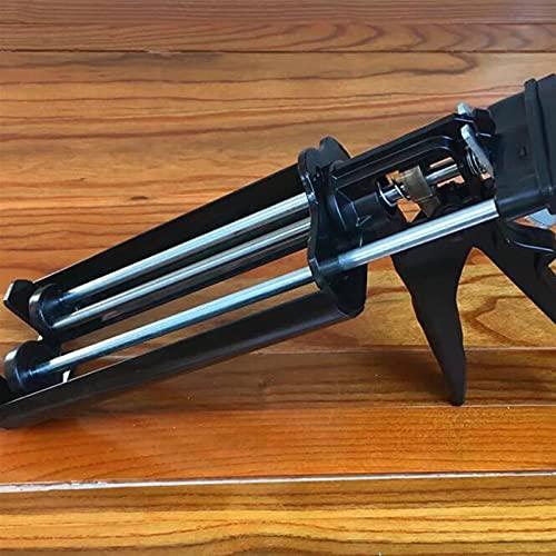 Pistola de calafateo ampliamente utilizada Acero Dual componente Cartucho de cartucho Aplicador Manual Hidráulico Pistola de pegamento Pistola de calafateo para la costura de la teja de cerámica