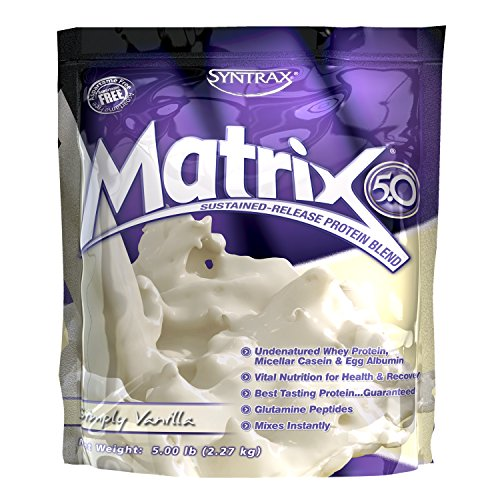 Syntrax Matrix 5.0, Simply Vanilla, 1er Pack(1 x 100 g)