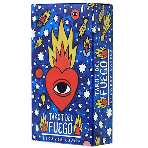 78 Tarjetas/Tierra del Fuego Tarot, Fortune-Telling Future Game Deck Tarot Board Game Poker Card Juego,Tarot Cards+tablecloths