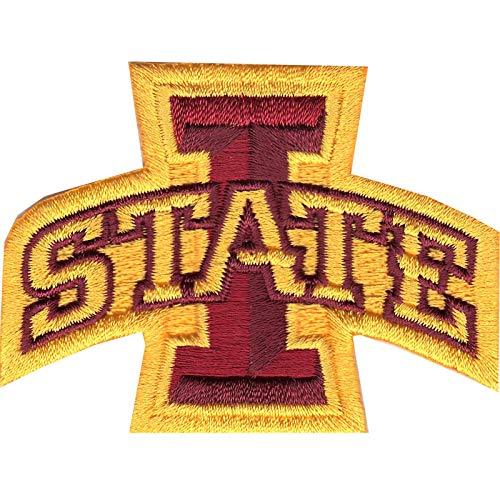 Iowa State Cyclones Patch Primary Logo NCAA College Iron On Embroidered