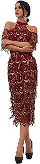 Best off the shoulder embellished prom dress Reviews