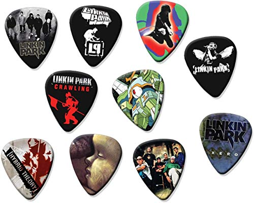 Linkin Park (A5) 10 X Loose Gitarren-Picks Plektrums Plektrons