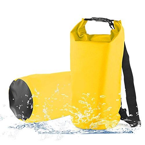 10L Sacca Stagna,2win2buy Sacca Durevole Impermeabile Sport all'Aria Aperta con Tracolla per Kayak Pesca Galleggianti e Campeggio