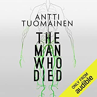 The Man Who Died audiobook cover art