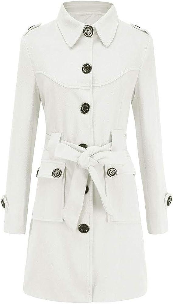 Womens Jacket Excellence Women New life Tops - Trench Winter Woolen Warm Coat