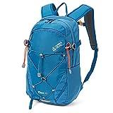 Terra Peak Flex 20 Daypack für Herren und Damen blau 20 Liter Volumen Skirucksack moderner survival Rucksack zum Trekking mit Regenhülle und gepolstertem Tragesystem optimal für lange Touren