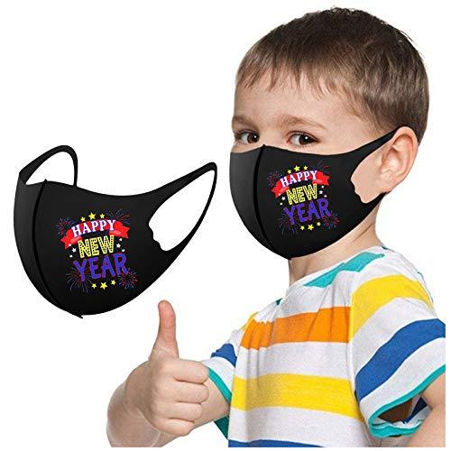 777 2021 Frohes Neues Jahr Kinder Waschbar Wiederverwendbar Atmungsaktiv Stoff Mundschutz