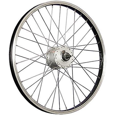 Taylor-Wheels 20 Pouces Roue arri/ère v/élo pour Roue Libre /à vis 406-19 Argent