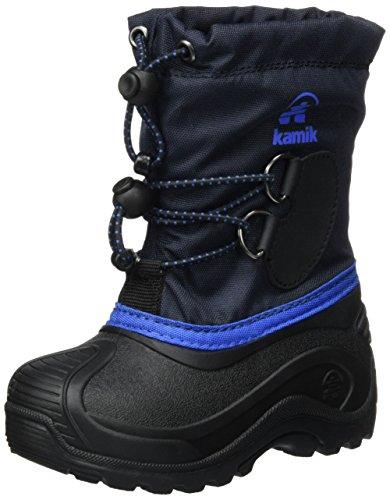 Kamik SOUTHPOLE4 Schneestiefel Unisex-Kinder, Blau (Navy), 31 EU