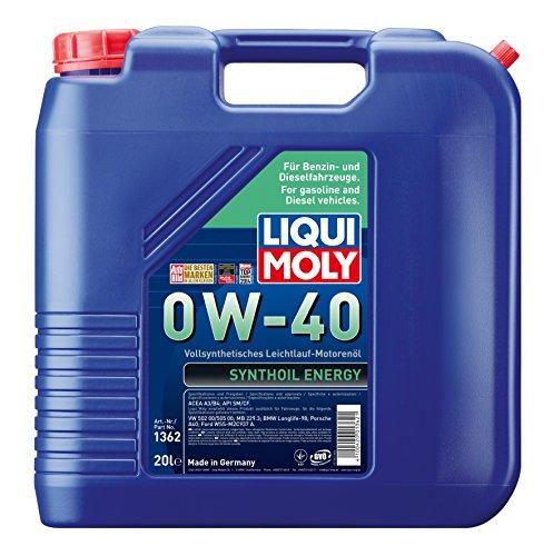 Liqui Moly 1362 20L Motoröl 0W-40
