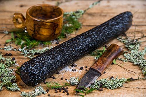 Norge Salamipaket limitiert mit 8x200g verschiedene Salamis Rentier,Elch, Hirsch, Rotweinsalami, Baconsalami, Knoblauchsalami, Jägersalami, Kognaksalami 8 x 200g