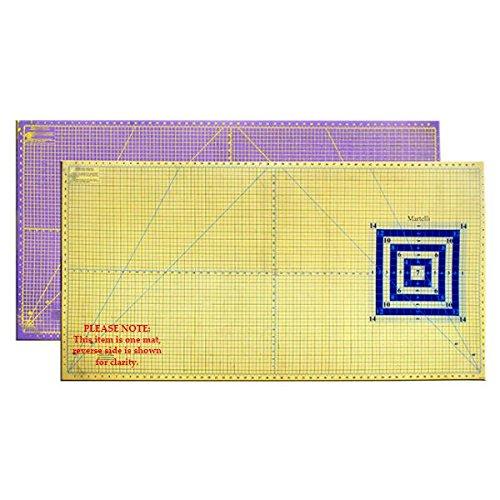 Martelli 30  x 60  Large Self Healing Contrasting Cutting Sewing Mat