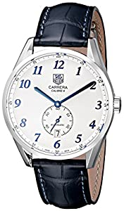 Tag Heuer Men's WAS2111.FC6293 Carrera White Dial Dress Watch image