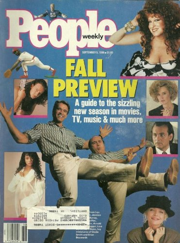 Arnold Schwarzenegger and Danny DeVito, Bono/U2, Bette Midler, Bill Murray - September 5, 1988 People Weekly Magazine
