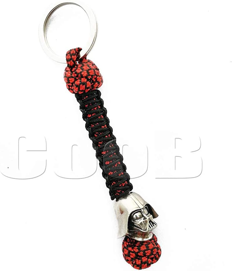 CooB EDC Paracord Keychain with Bead Hand Casted Metal Regular New York Mall dealer
