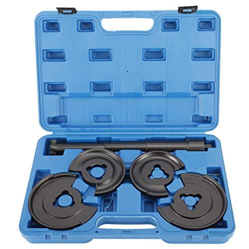 FreeTec Federspanner Werkzeug Kompatibel mit Mercedes Federn Spanner W116, W123, W124, W126, W129, W201, W202, W210 Teleskop