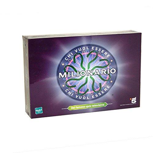 Hasbro-Chi Vuole Essere Milionario, Multicolore, 3.MB50033